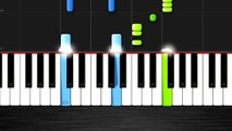 Pharrell Williams - Happy - EASY Piano Tutorial by PlutaX - Synthesia