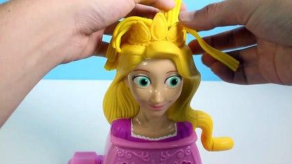 Play Doh Rapunzel Disney Princess Playset playdo by Unboxingsurpriseegg