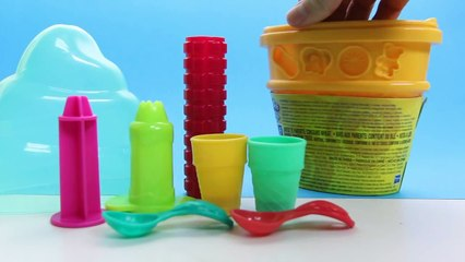 Play Doh Ice cream Double Dessert playset playdough toy by Unboxingsurpriseegg