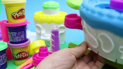 Play Doh Cake Makin Station Bakery Playset Decorate Cakes Cupcakes Playdough Hasbro Toys