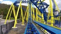 Impulse front seat on-ride HD POV @60fps Knoebels Amusement Resort