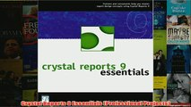 Download Crystal Reports 9 Essentials (Professional Projects) PDF
