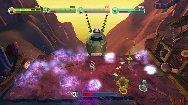 Spongebob Squarepants: Planktons Robotic Revenge - Part 08 (4 Player)