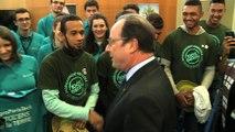 Le Président de la République rencontre les jeunes de l'enseignement agricole
