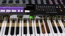 Hawaii Five - Main Theme - piano lesson piano tutorial (slow)