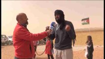 Saharauis: Es muy emocionante gritar por la independencia, con libertad