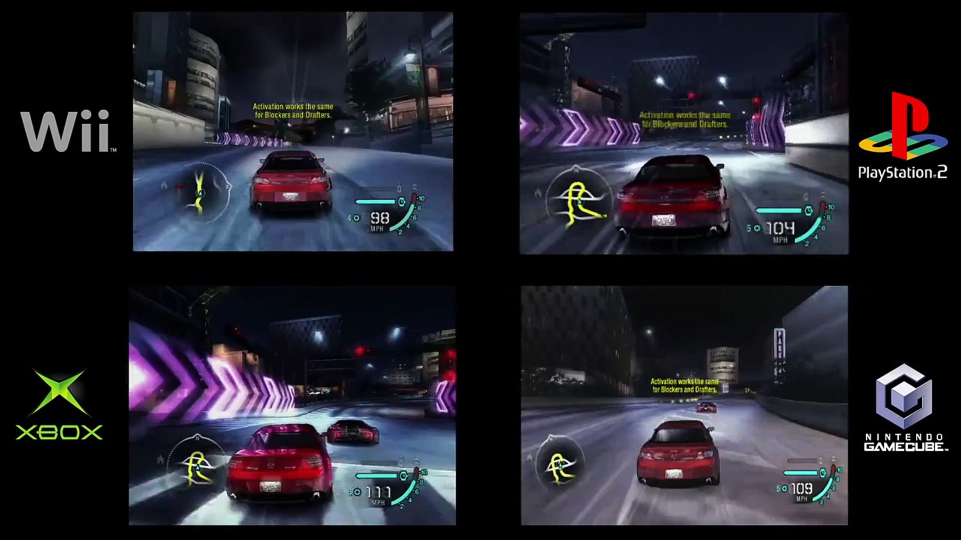 Nfs carbon all cars ps2