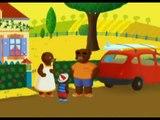 Petit Ours Brun part en vacances - petit ours brun a la ferme
