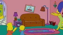 Simpsons - Couch Gag - Couch flees