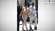 Kanye West Caught Screaming On The Phone At Wife Kim Kardashian