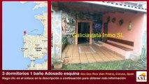 3 dormitorios 1 baño Adosado esquina se Vende en Oza Dos Rios (San Pedro), Coruna, Spain