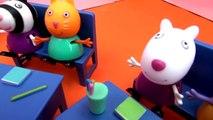 Apprentissage de lheure pour les enfants / La classe de Peppa Pig apprend lheure avec vous