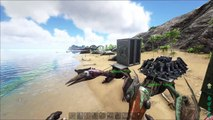 ARK: Survival Evolved - Ultimate Quetzal Guide-Flying Bases/Respawns/Fortress/Factory-Quetzalcoatlus