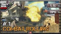 GTA 5 Online - Tips and Tricks - #1 Combat Rolling (Combat Tactics in GTA V 1.23) 1.22 1.08