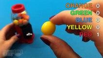 Gumball Machine Learn Colors with Bubble Gum! Dubble Bubble Gum!