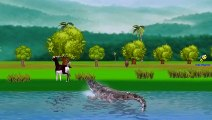 Tiger Vs Crocodile And Tiger Vs Lion Cartoons Finger Family Children Nursery Rhy