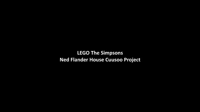 LEGO The Simpsons Ned Flanders House Set
