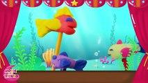 Les petits poissons dans leau - Comptine en pâte à modeler Play-Doh