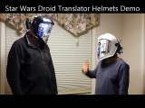 Parlez comme les droides Star Wars avec ces deux casques !