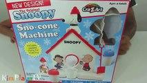 Unbox,Review, & Make Snow Cones with SNOOPY SNO-CONE Machine - Peanuts Snow Cone Machine