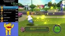 The Simpsons: Hit & Run - Level 1 Speed Run - 11:51