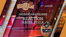 Réaction d'Abdel Sylla - J21 - Orléans reçoit Gravelines