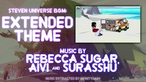 Steven Universe BGM: Extended Theme Song (Instrumental -- (Almost) No Vocals)