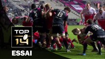 TOP 14 – Paris – Grenoble : 18-33 – J16 –  Essai 1 Arnaud HEGUY (GRE) – saison 2015-2016
