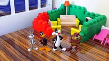 looney tunes toys dolls, taz, bugs bunny, sylvester, daffy duck, playing toys, collection review