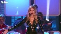 Gigi Hadid, Nick Carter & AJ McLean perform Backstreet Boys' 'Larger Than Life'   Lip Sync Battle _ new hinde song
