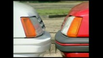 205 GTI contre la 205 Rallye fr