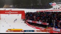 FALUN 2015-50 km Race Petter NORTHUG BAUER OLSSON FiNiSH Ski Marathon NORWAY GERMANY SWEDEN