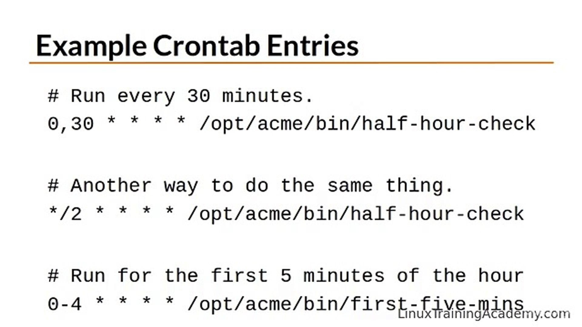 Learn Linux in 5 Days - Scheduling Repeated Jobs with Cron ( Video 33 )