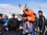 Grèce: 6.500 migrants bloqués au poste frontière d'Idomeni