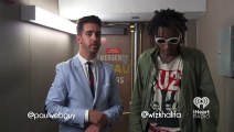 Wiz Khalifa - We Dem Boyz (Live Acoustic Rap)   At The Back Door