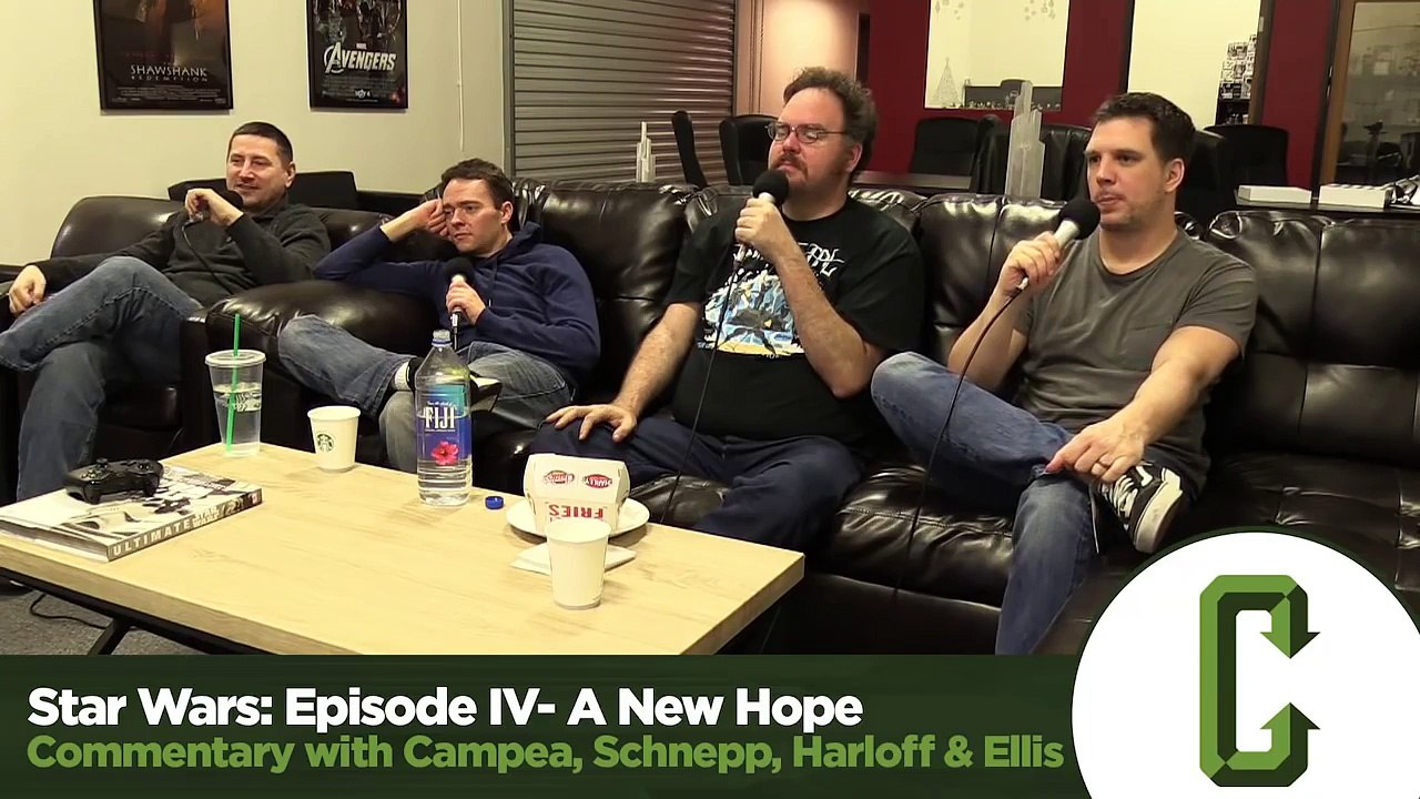 Star Wars A New Hope Commentary Collider Video Dailymotion Video