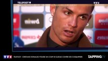 Cristiano Ronaldo : Son violent coup de gueule contre ses coéquipiers du Real Madrid (Vidéo)