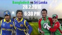 Asia cup 2016 Bangladesh vs sri lanka live streaming  T20 -28-February-2016
