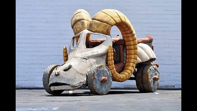 1994 The Flintstones Four Heel Drive Truck Used in the Movie, The Flintstones