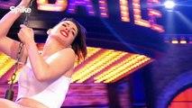 Gigi Hadid Insane Cleavage In Lip Sync Battle VS Tyler Posey