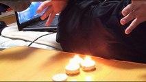 Éteindre des bougies avec la force de ses pets