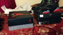 Nike Air Jordan 4 Teal+Nike Air Jordan 7 Marvin Martian+Liberty 10s