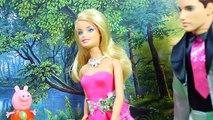 Куклы Барби ЕДЯТ ДЕТЕЙ Свинка Пеппа УПАЛА В УНИТАЗ Похищение Мультики для детей Peppa Pig