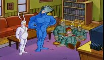 The Tick - The Tick vs The Mole Men ENGLISH (S01Ep11) (Cartoon World Channel TV)