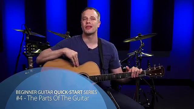 The Parts Of The Guitar – Beginner Guitar Lesson #4