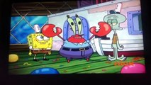 Mr krabs and spongebob and squidward go clam fishing