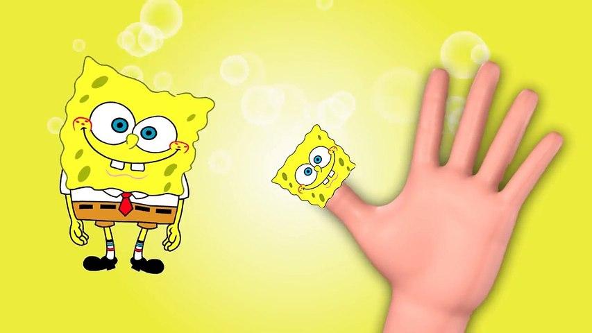 SpongeBob Finger Family Nursery Rhyme