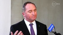 Barnaby Joyce on Johnny Depps dogs Its time Pistol & Boo buggered off back to the United