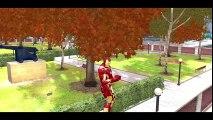 [The Avengers] Iron Man & HULK w_ Custom Yellow Lightning McQueen Disney Cars