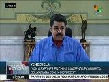 Nicolás Maduro revela que China invertirá en turismo en Venezuela